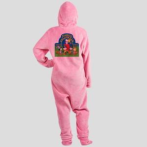 The Peanuts Gang Halloween Footed Pajamas