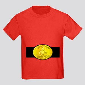 Light-Weight Champion Belt Kids Dark T-Shirt