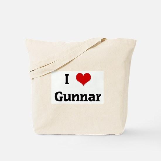 I Love Gunnar Tote Bag
