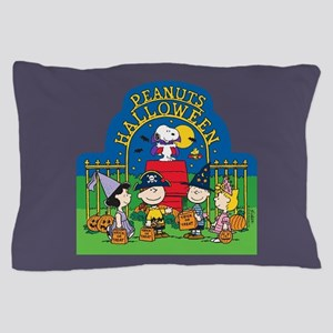 The Peanuts Gang Halloween Pillow Case