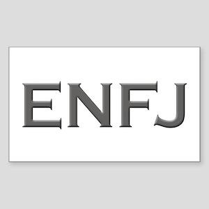 ENFJ Rectangle Sticker