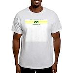 CO Stripes Ash Grey T-Shirt
