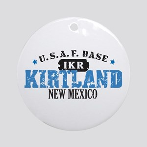 Kirtland Air Force Base Ornament (Round)