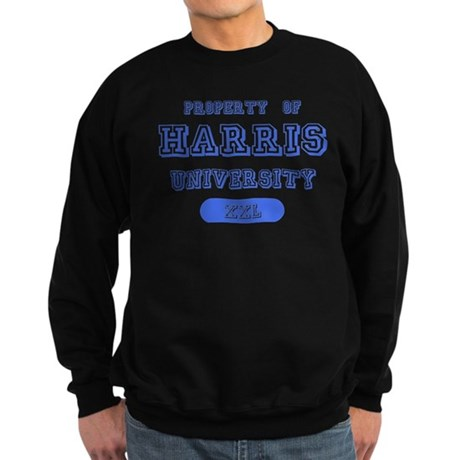 Property of Harris University Sweatshirt (dark)