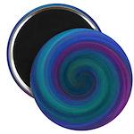Blue swirly Magnet