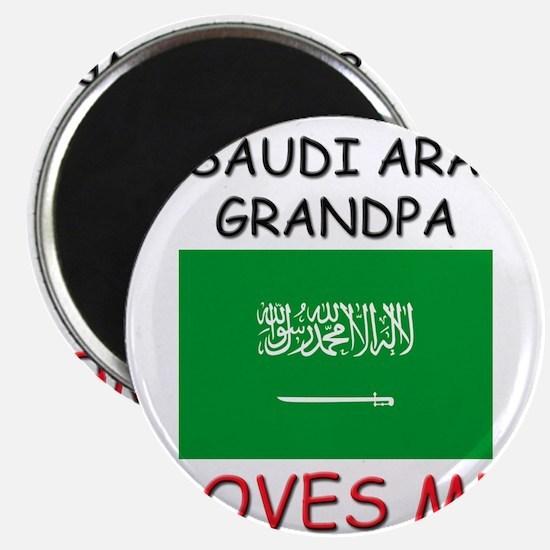 My Saudi Arabia Grandpa Loves Me Magnet