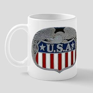 Victory and Liberty Eagle Mug