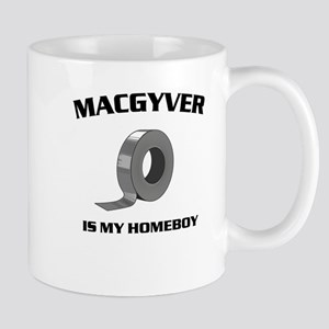 MacGyver is my homeboy Mugs