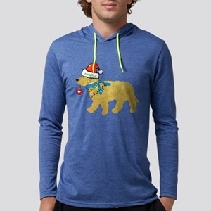 Naughty Christmas Goldendoodle Long Sleeve T-Shirt