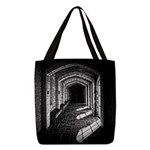 Church Hallway Polyester Tote Bag