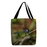 Dragon Fly Polyester Tote Bag