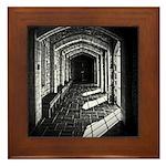 Church Hallway Framed Tile