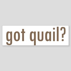 Got Quail? Bumper Sticker (10 pk)