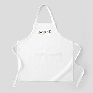 Got Quail? BBQ Apron