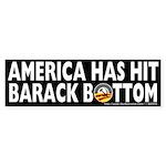 Anti-Obama America Has Hit Barack Bottom Sticker