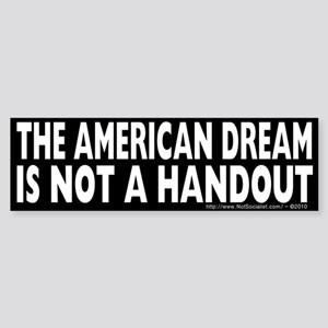 The American Dream v2 Sticker