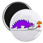 Confused Dinosaur Magnet