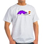 Confused Dinosaur Light T-Shirt