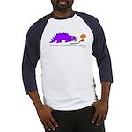 Confused Dinosaur Baseball Jersey