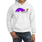 Confused Dinosaur Hooded Sweatshirt