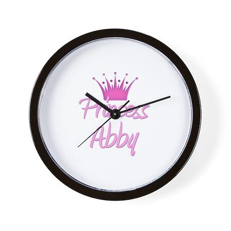 Princess Abby Wall Clock