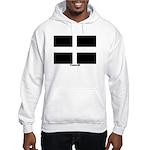 Cornwall Flag Hooded Sweatshirt