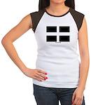 Cornwall Flag Women's Cap Sleeve T-Shirt