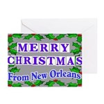 New Orleans Christmas Cards
