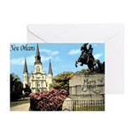 Old Jackson Square Christmas Cards (Pk of 10)