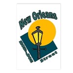 New Orleans Bourbon Stree Postcards (Package of 8)