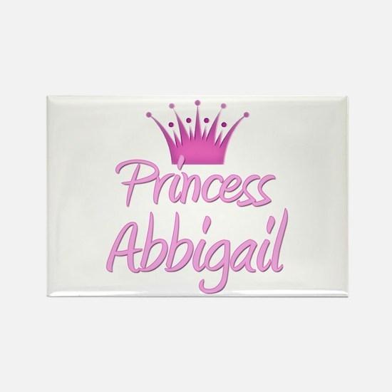 Princess Abbigail Rectangle Magnet