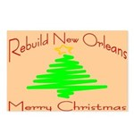 Rebuild New Orleans Christmas Postcards