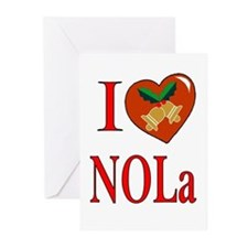 Love New Orleans Chritmas Cards (Pk of 10)