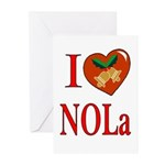 Love New Orleans Chritmas Cards (Pk of 10)