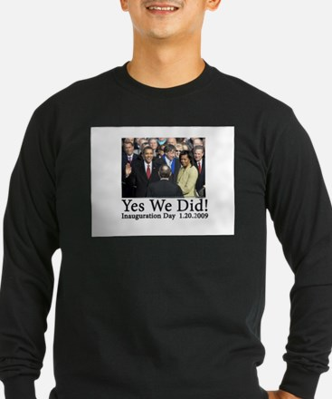 Yes We Did! T