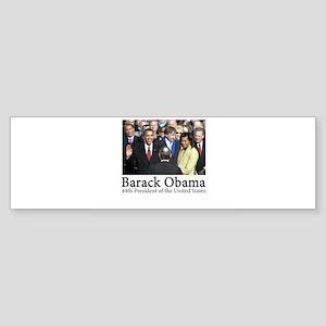 Barack Obama, 44th President Bumper Sticker