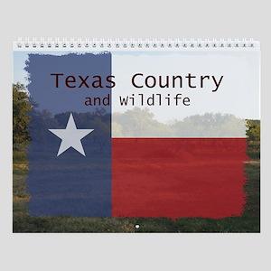 Texas Country and Wildlife Wall Calendar