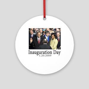Inauguration Day 1.20.09 Ornament (Round)