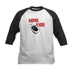 Happy B'day Kids Baseball Jersey