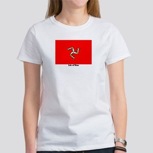 Isle of Man Flag Women's T-Shirt