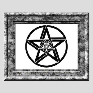 "Pentagrams #1 - Poster - 20""x16"""