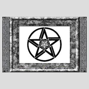 "Pentagrams #1 - BIG Poster - 35""x23"""