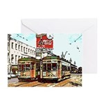 Vintage Streetcar New Orleans Christmas Cards (6)