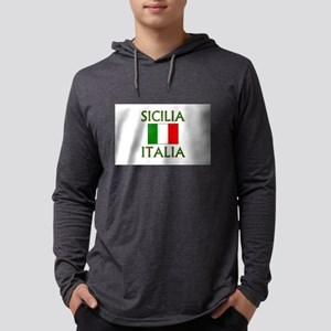 italiasiciliagrnflg Long Sleeve T-Shirt
