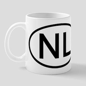 Netherlands - NL - Oval Mug