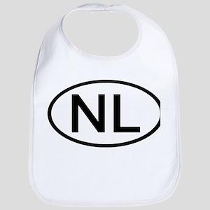 Netherlands - NL - Oval Bib