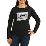 Old School Women's Long Sleeve Dark T-Shirt