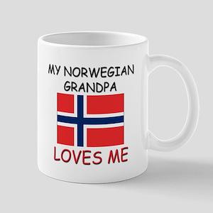 My Norwegian Grandpa Loves Me Mug