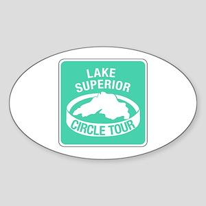 Lake Superior Circle Tour, Minnesota Sticker (Oval