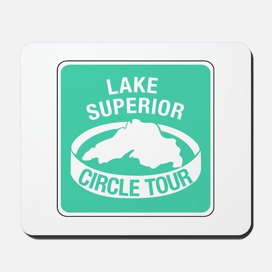 Lake Superior Circle Tour, Minnesota Mousepad